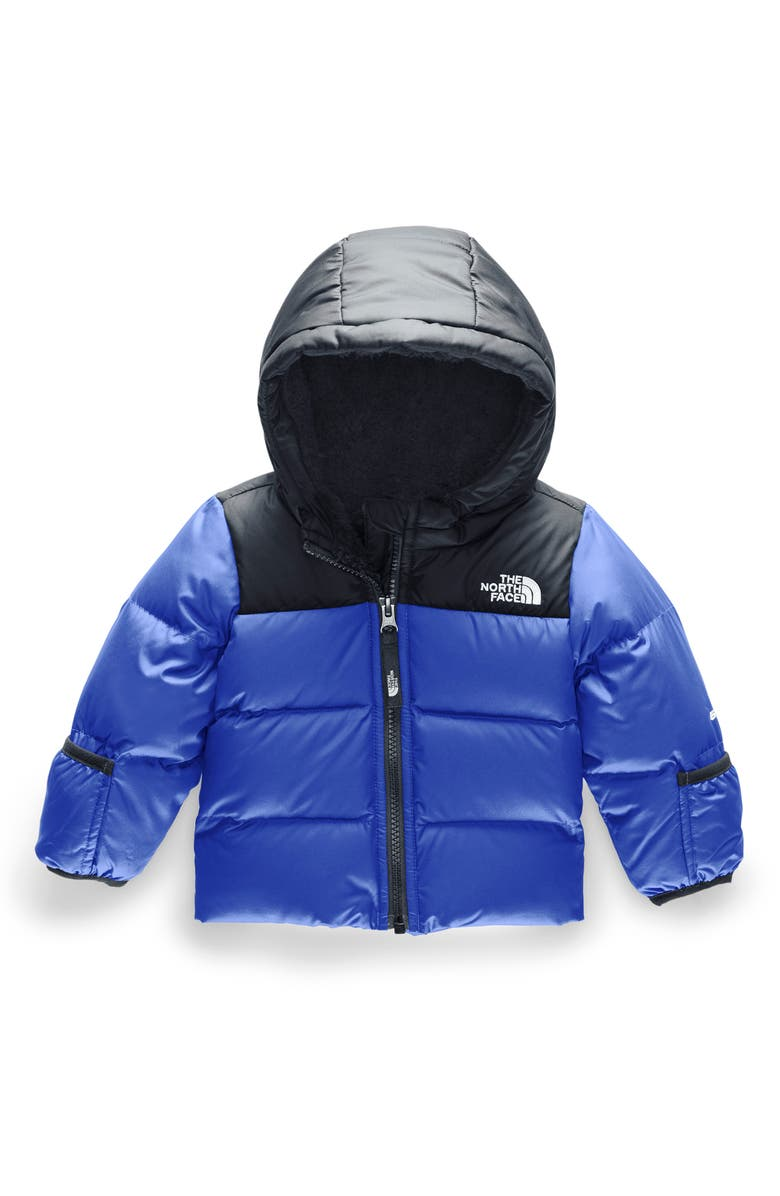 THE NORTH FACE Moondoggy 2.0 Water Repellent 550 Fill Power Down Jacket, Main, color, TNF BLUE