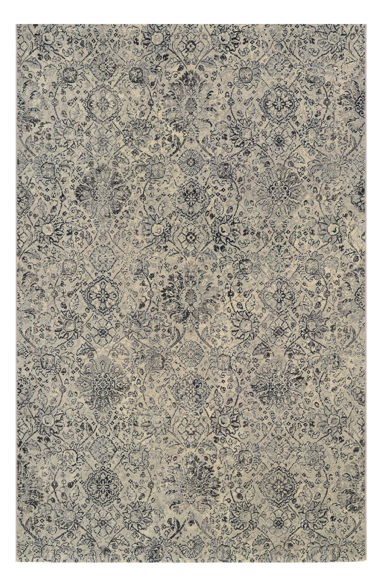 COURISTAN Winslet Indoor/Outdoor Rug, Main, color, BEIGE/ BLACK