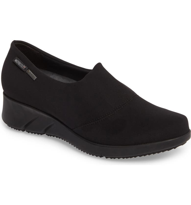 MEPHISTO Molly Waterproof Wedge, Main, color, 009
