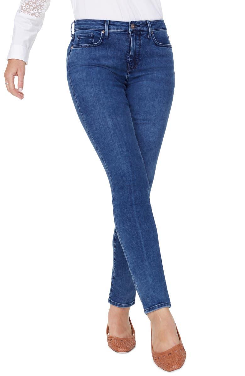 NYDJ Alina Skinny Jeans, Main, color, HABANA