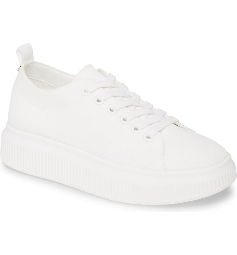 BP. Sonny Sneaker, Main, color, WHITE FABRIC