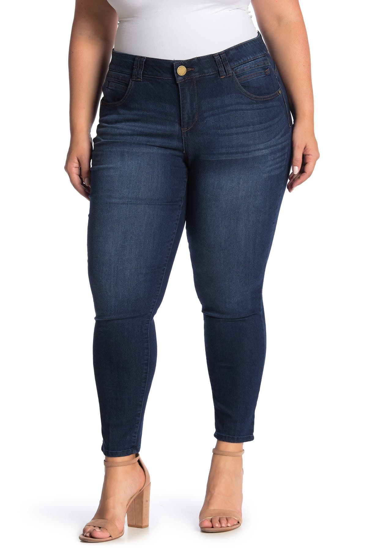 Image of Democracy AB Tech Skinny Ankle Jeans