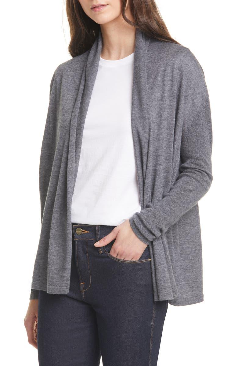 NORDSTROM SIGNATURE Cashmere Blend Cardigan, Main, color, 030