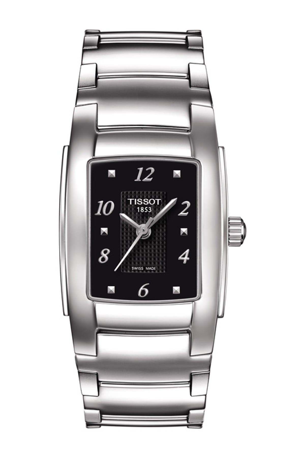 Image of Tissot Women's T10 Quartz Bracelet Watch, 25mm