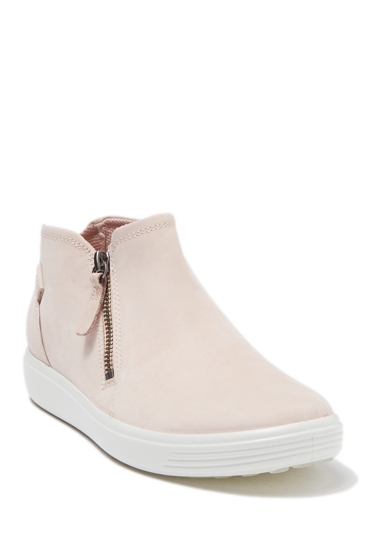 ECCO | Soft 7 Leather Zip Sneaker