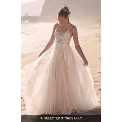 Willowby Kendrew Lace & Tulle Wedding Dress