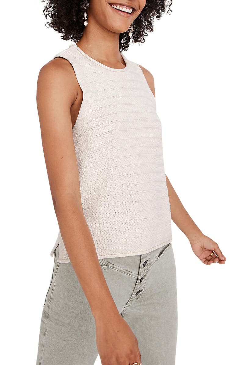 MADEWELL Norris Sweater Tank, Main, color, 900