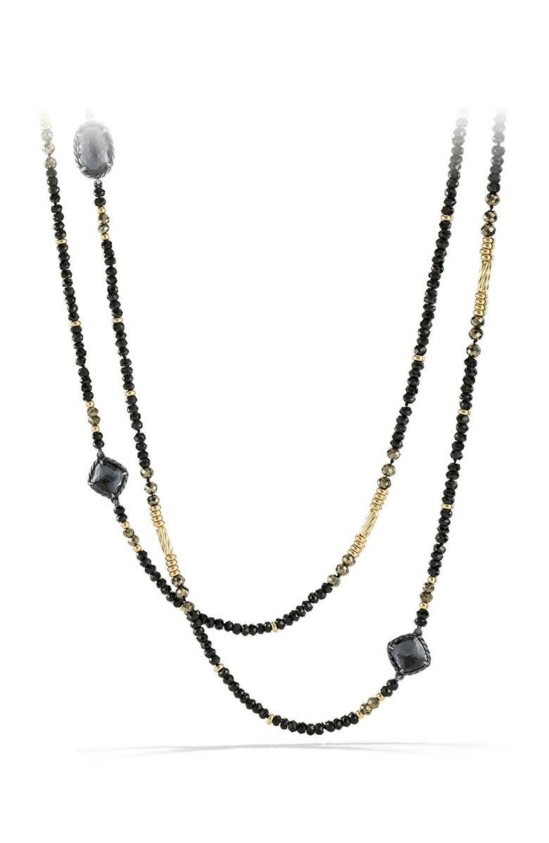DAVID YURMAN 'Châtelaine' Necklace with 18K Gold, Main, color, 030