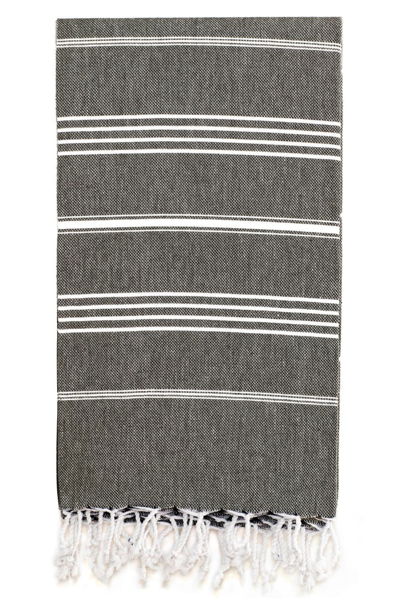 LINUM HOME TEXTILES 'Lucky' Turkish Pestemal Towel, Main, color, 001