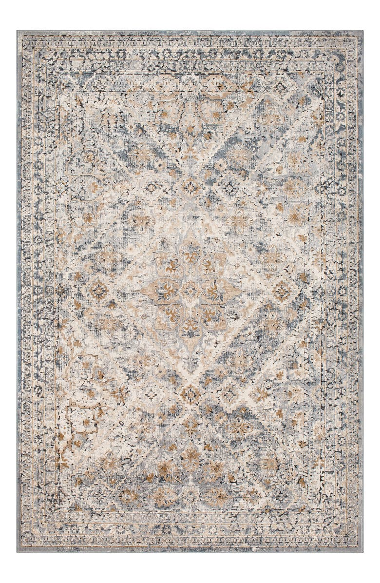 SURYA HOME Durham Area Rug, Main, color, GRAY
