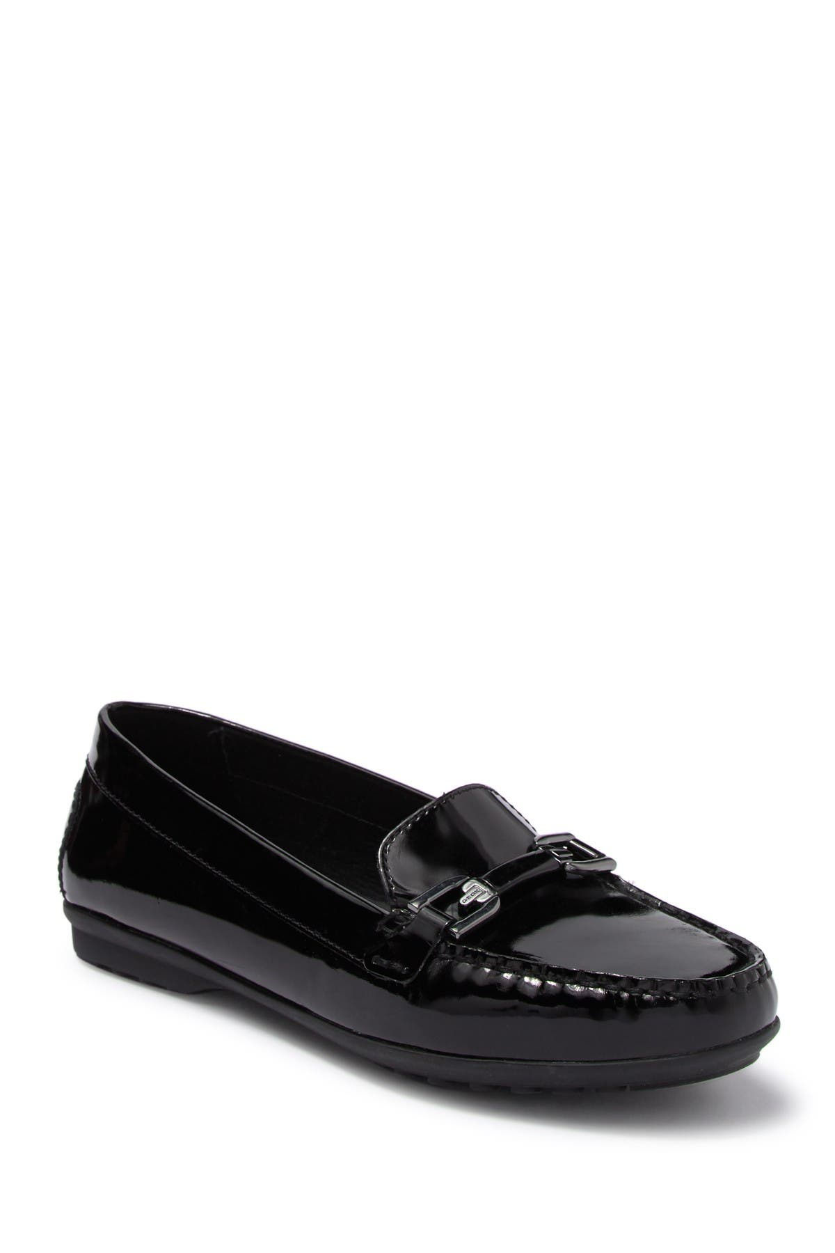 Image of GEOX Elidia Patent Moc Loafer