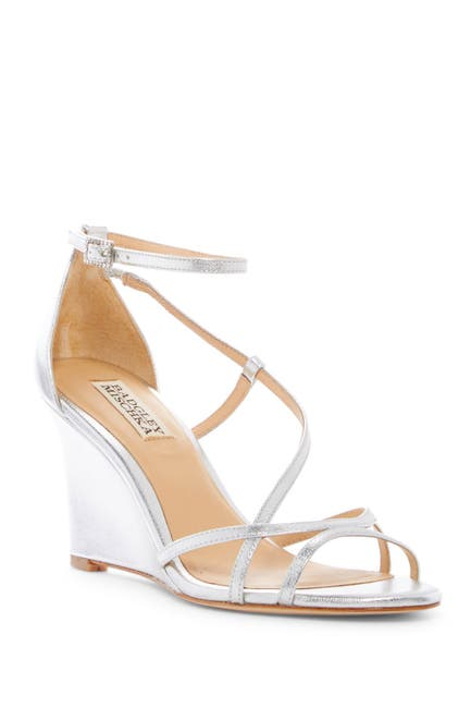 Image of Badgley Mischka Toni Wedge Sandal
