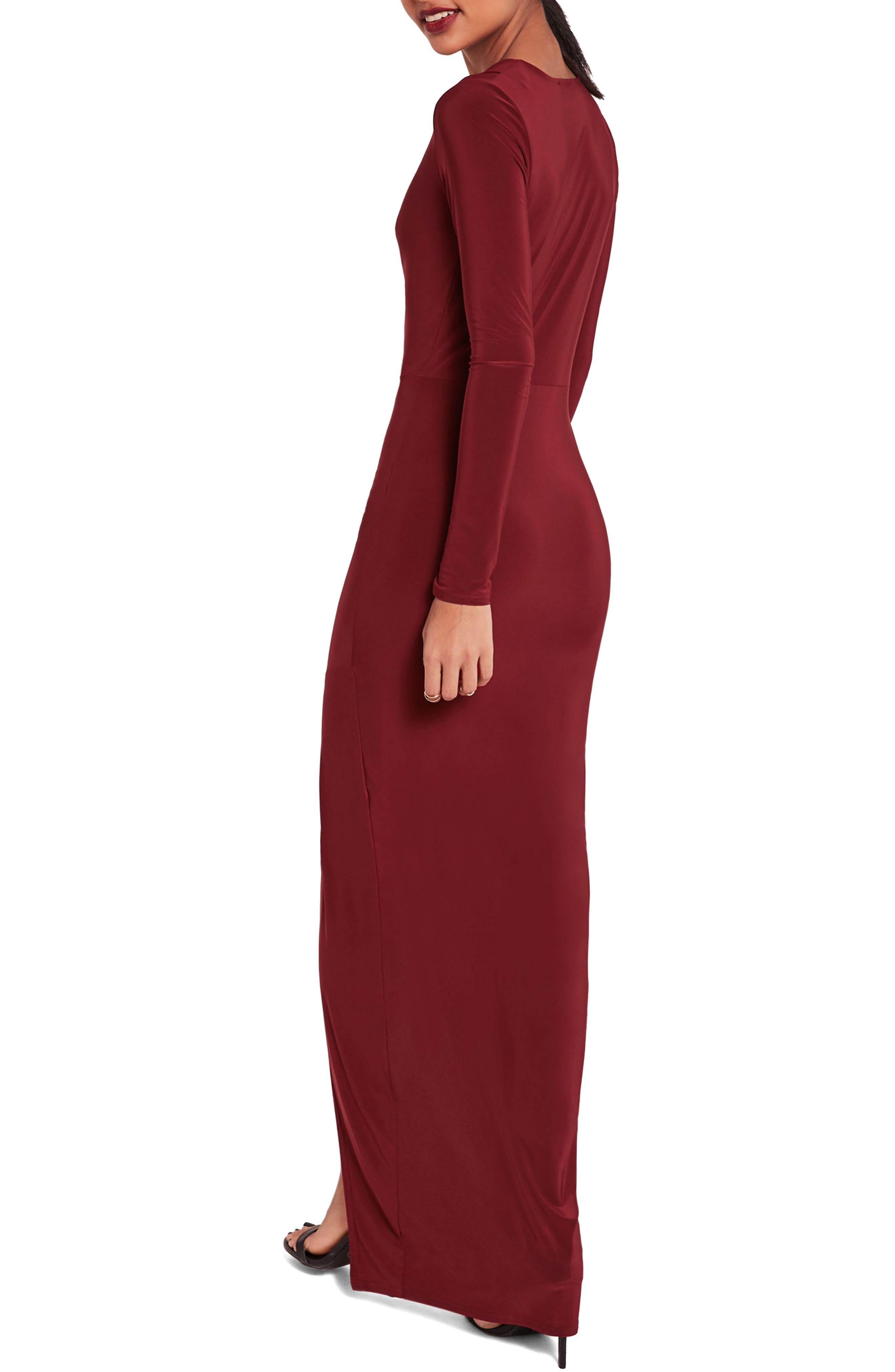 ,                             Wrap Maxi Dress,                             Alternate thumbnail 2, color,                             600