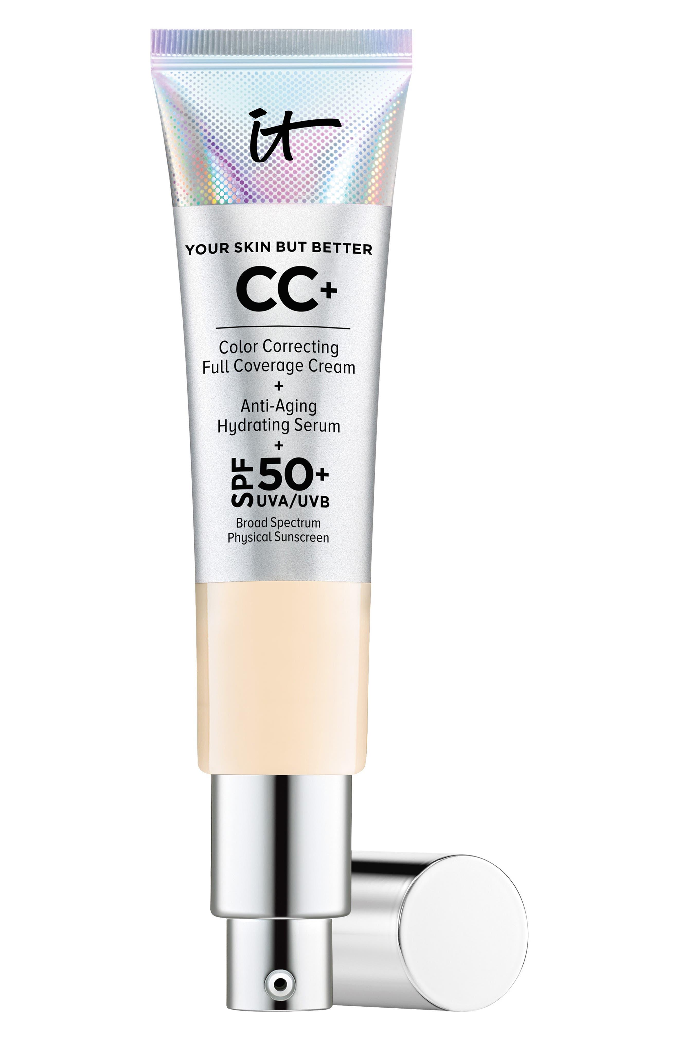Cc+ Color Correcting Full Coverage Cream Spf 50+