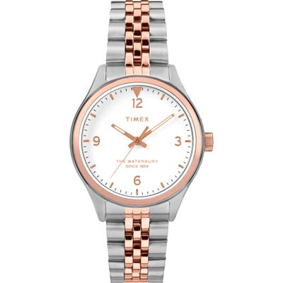 Timex Waterbury Bracelet Watch,