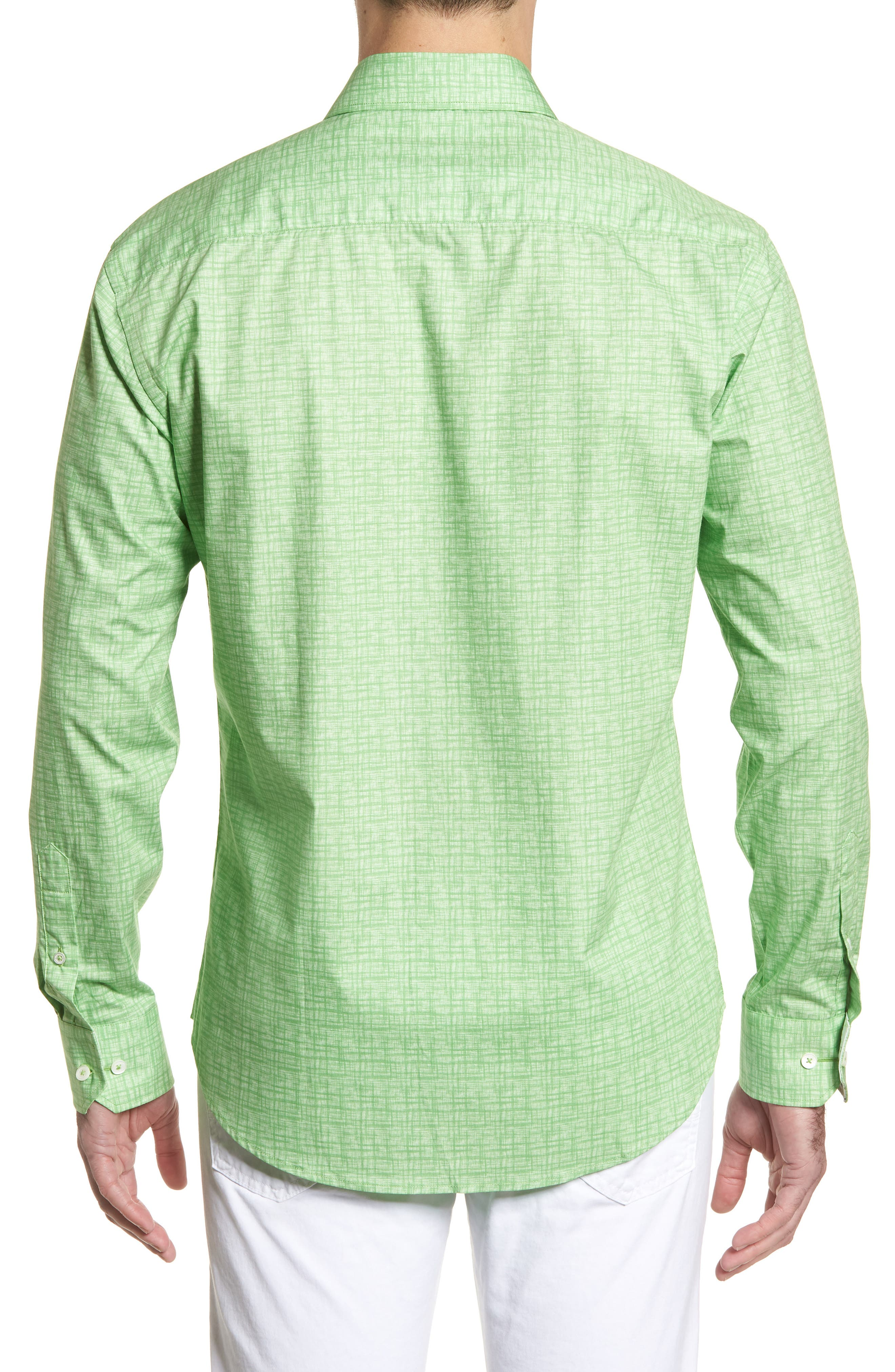 ,                             Shaped Fit Freehand Sport Shirt,                             Alternate thumbnail 14, color,                             329