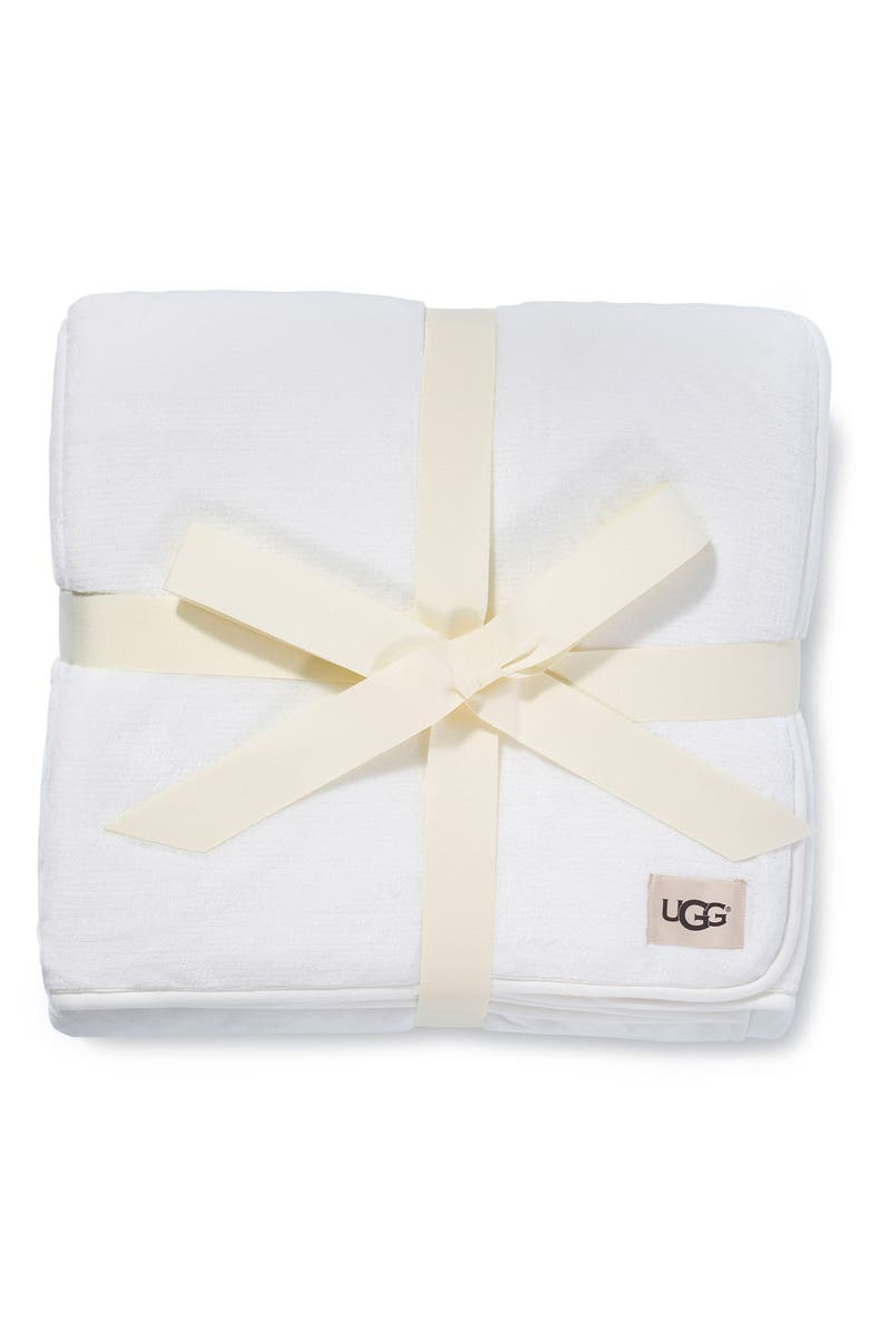 UGG<SUP>®</SUP> XL Duffield Spa Throw, Main, color, CREAM