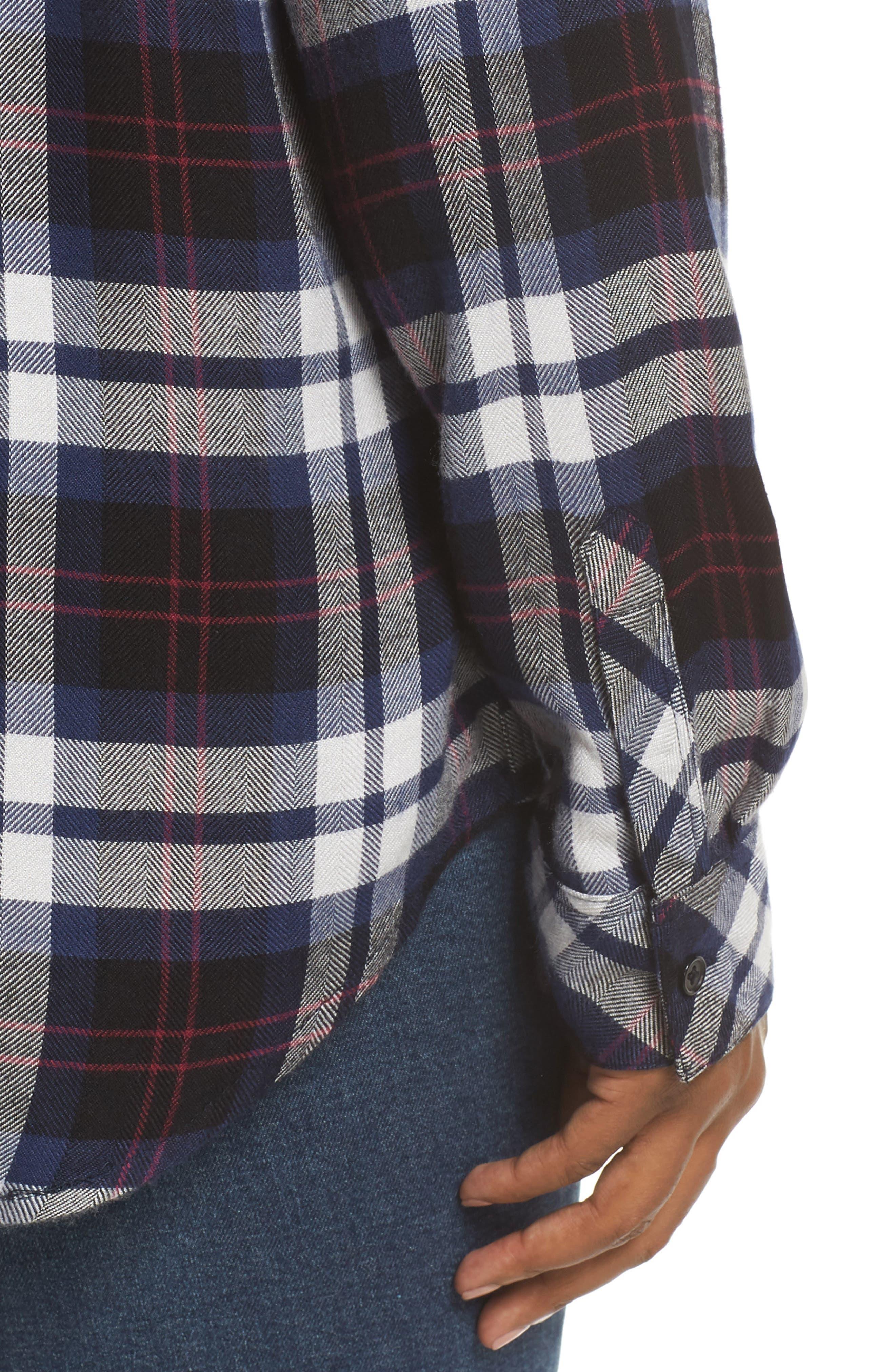 ,                             Hunter Plaid Shirt,                             Alternate thumbnail 327, color,                             409