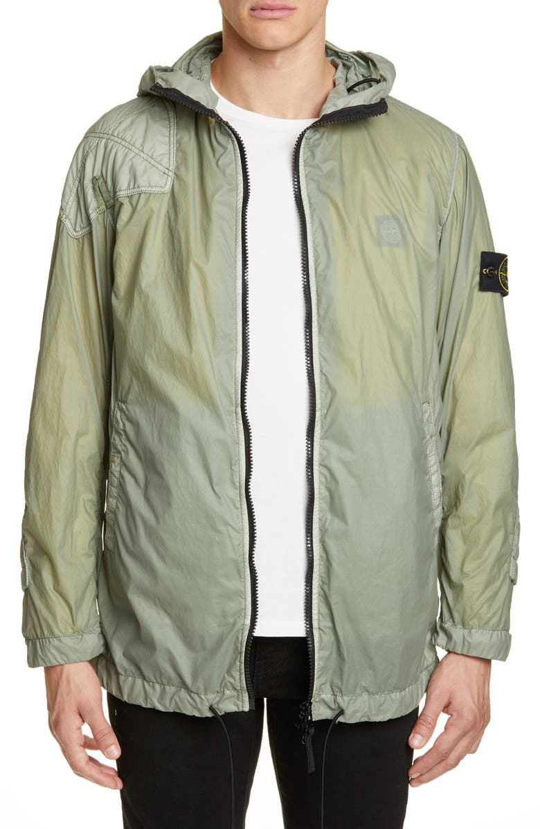 STONE ISLAND Laminated 2-in-1 Jacket, Main, color, 300