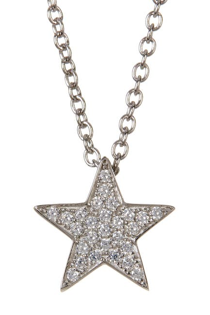 Image of Liza Schwartz Sterling Silver Touch Star Necklace