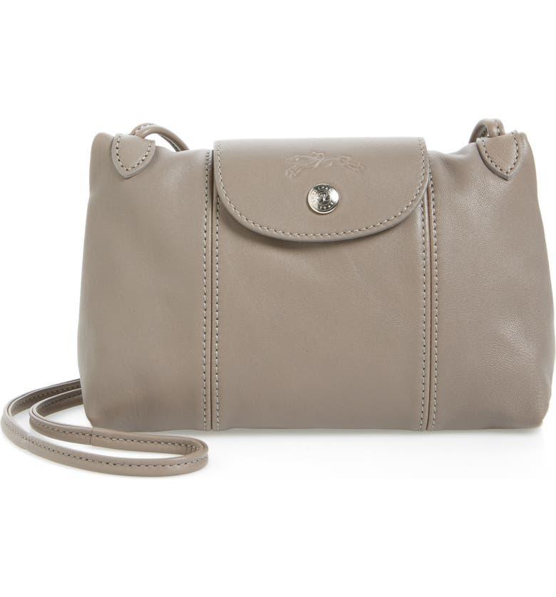 7f2610d90 Longchamp Le Pliage - Cuir Crossbody Bag | Nordstrom