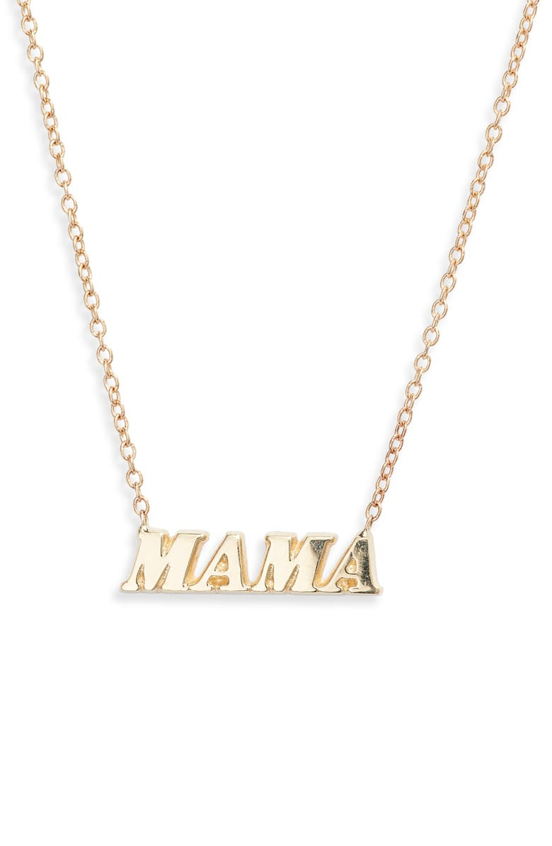 Ariel Gordon Mama Name It Necklace