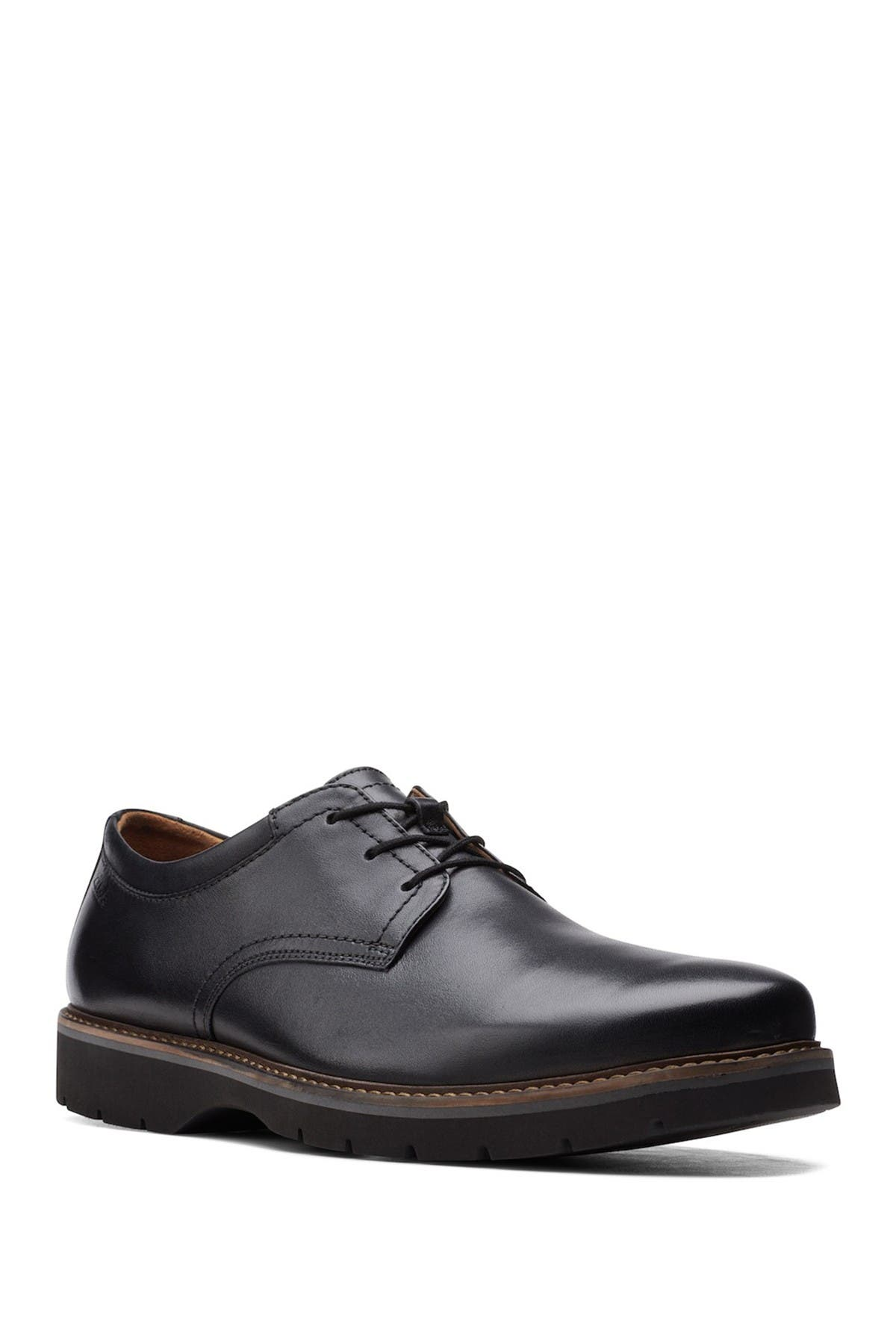 Image of Clarks Bayhill Plaid Toe Oxford - Wide Width Available