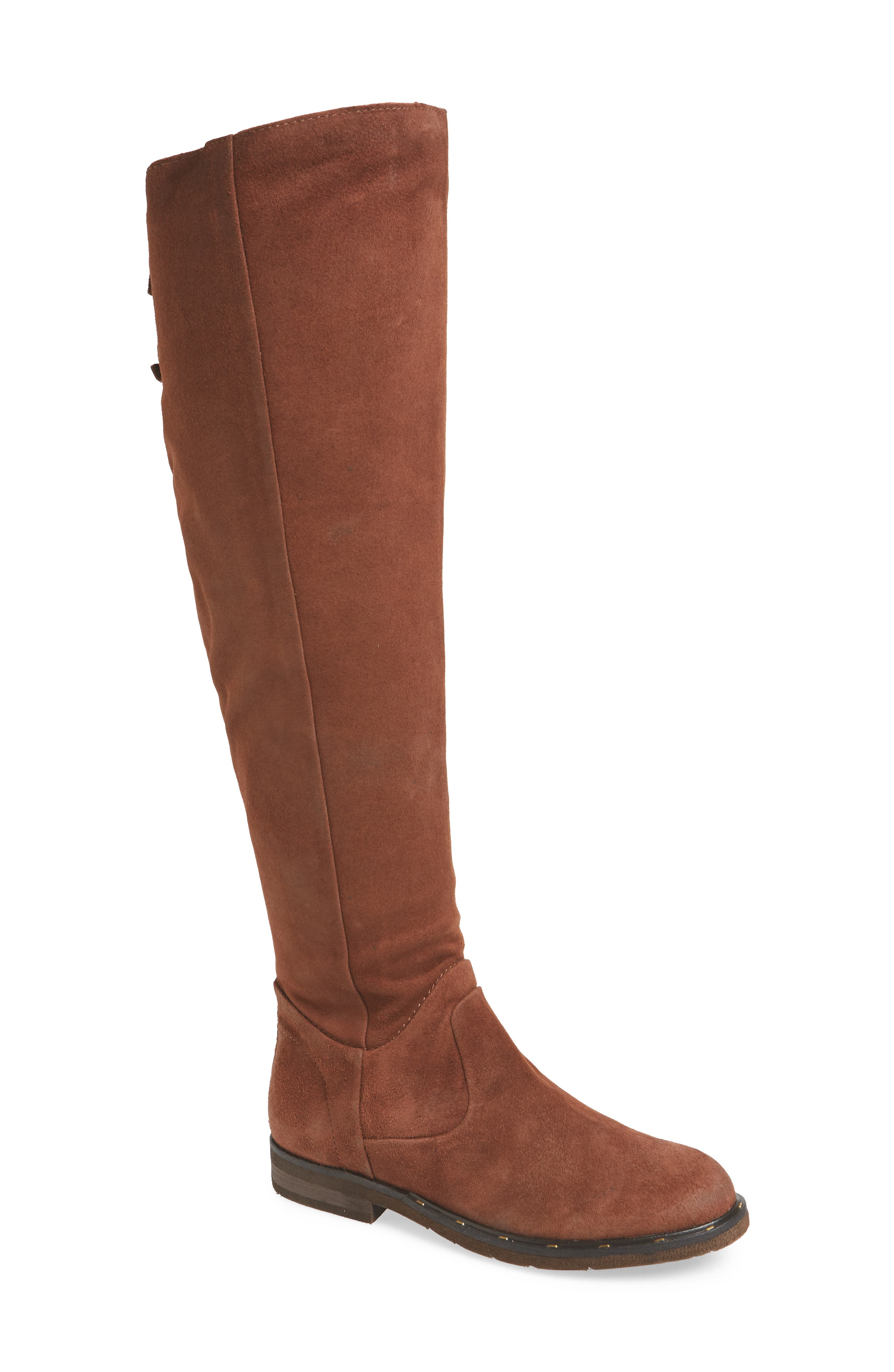 Otbt Steerage Over The Knee Boot, Brown