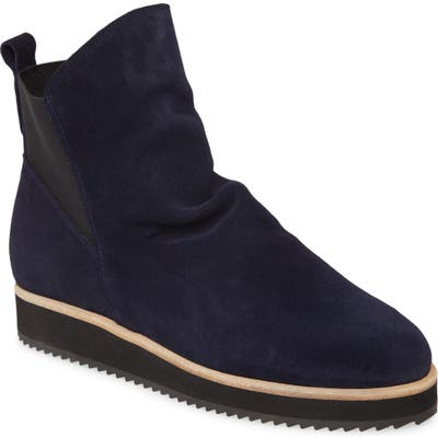 Patricia Green Charlee Wedge Bootie, Blue