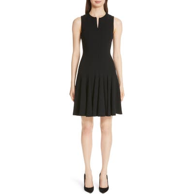 Akris Godet Pleat Sleeveless Dress