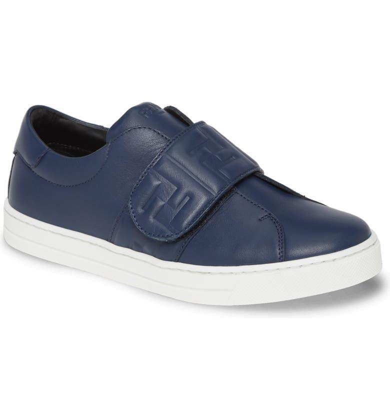 FENDI FF Logo Sneaker, Main, color, 400