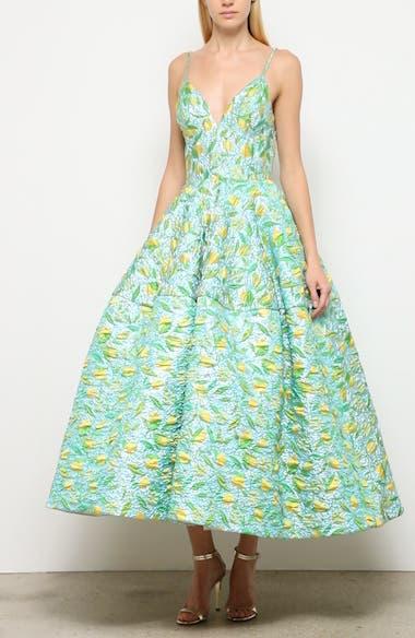 Floral Evening Dress, video thumbnail