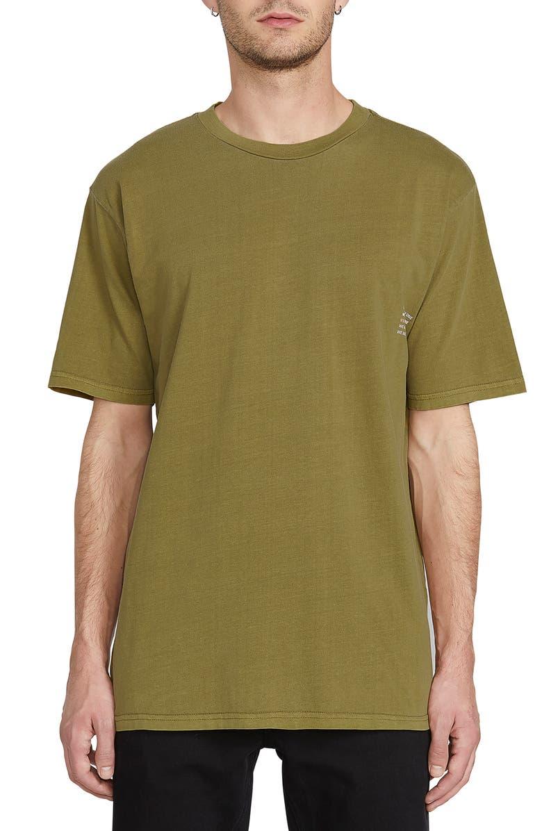 VOLCOM Everyone Graphic T-Shirt, Main, color, GREEN