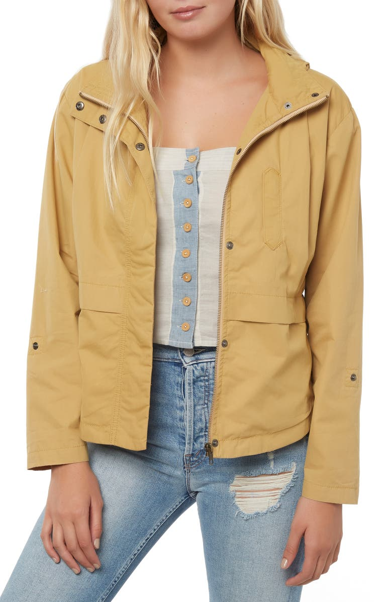 O'NEILL Voyage Jacket, Main, color, SAND