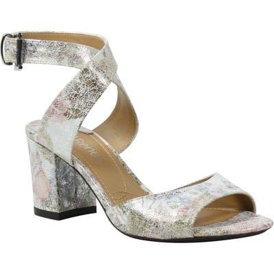 J. Renee Drizella Ankle Strap Sandal, White