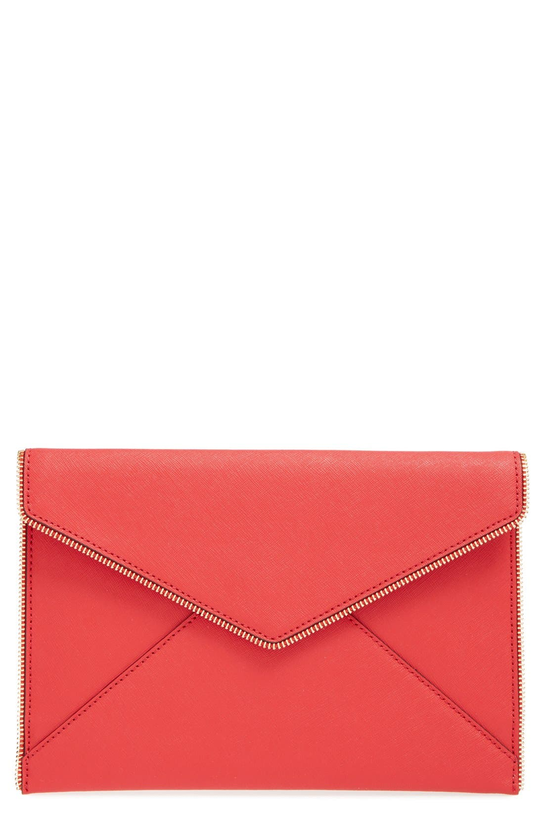 ,                             Leo Envelope Clutch,                             Main thumbnail 241, color,                             600
