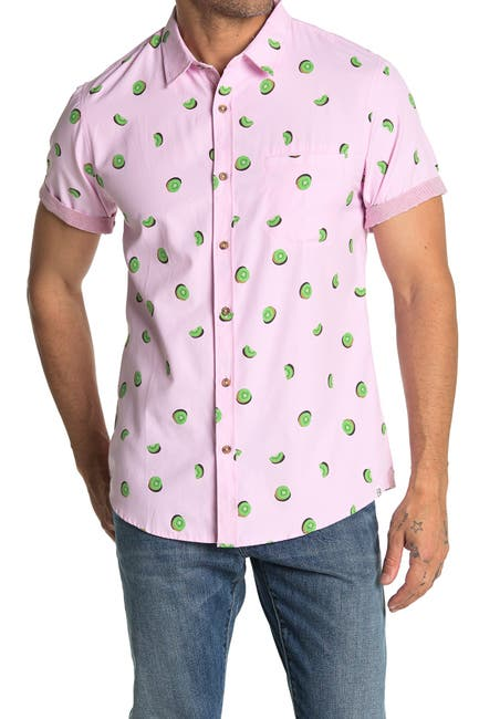 Image of Sovereign Code Pismo Short Sleeve Print Regular Fit Shirt
