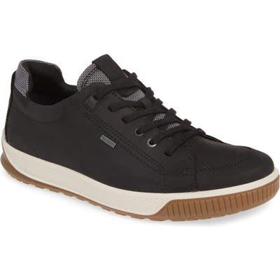Ecco Byway Tred Waterproof Sneaker - Black