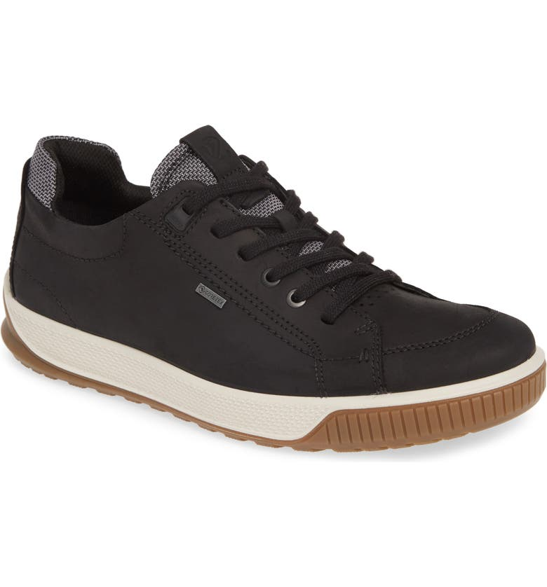 ECCO Byway Tred Waterproof Sneaker, Main, color, BLACK