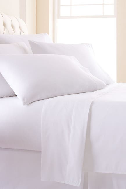 Image of SOUTHSHORE FINE LINENS Queen Sized Vilano Springs Extra Deep Pocket Sheet Set - Bright White