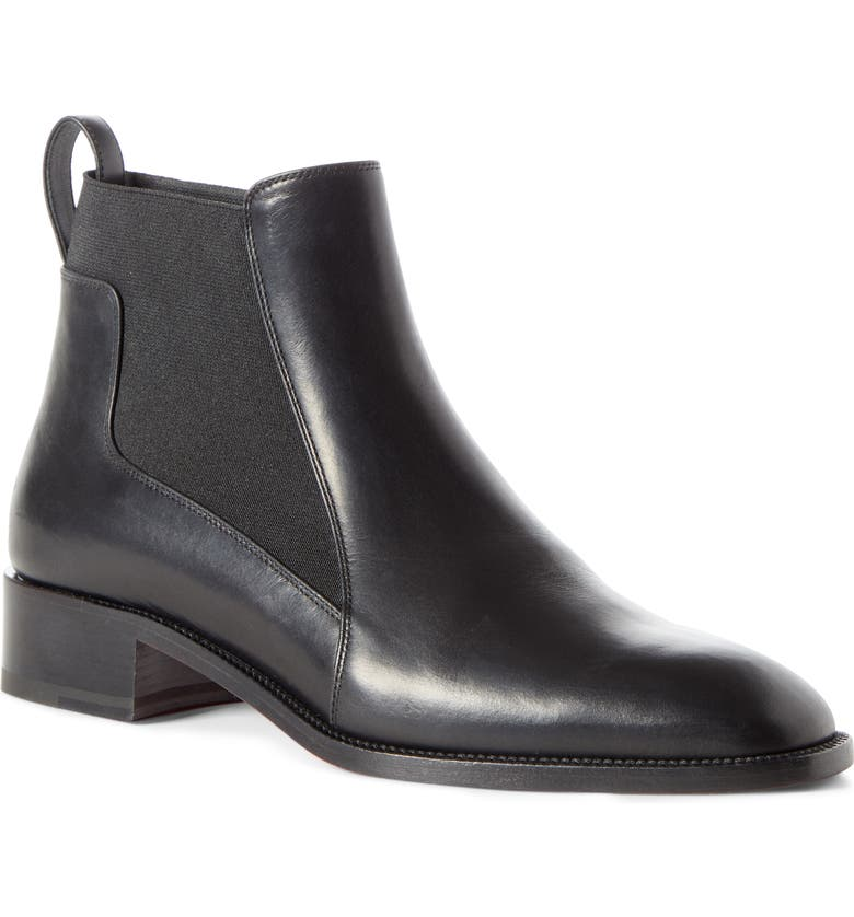 CHRISTIAN LOUBOUTIN Marmada Chelsea Boot, Main, color, BLACK