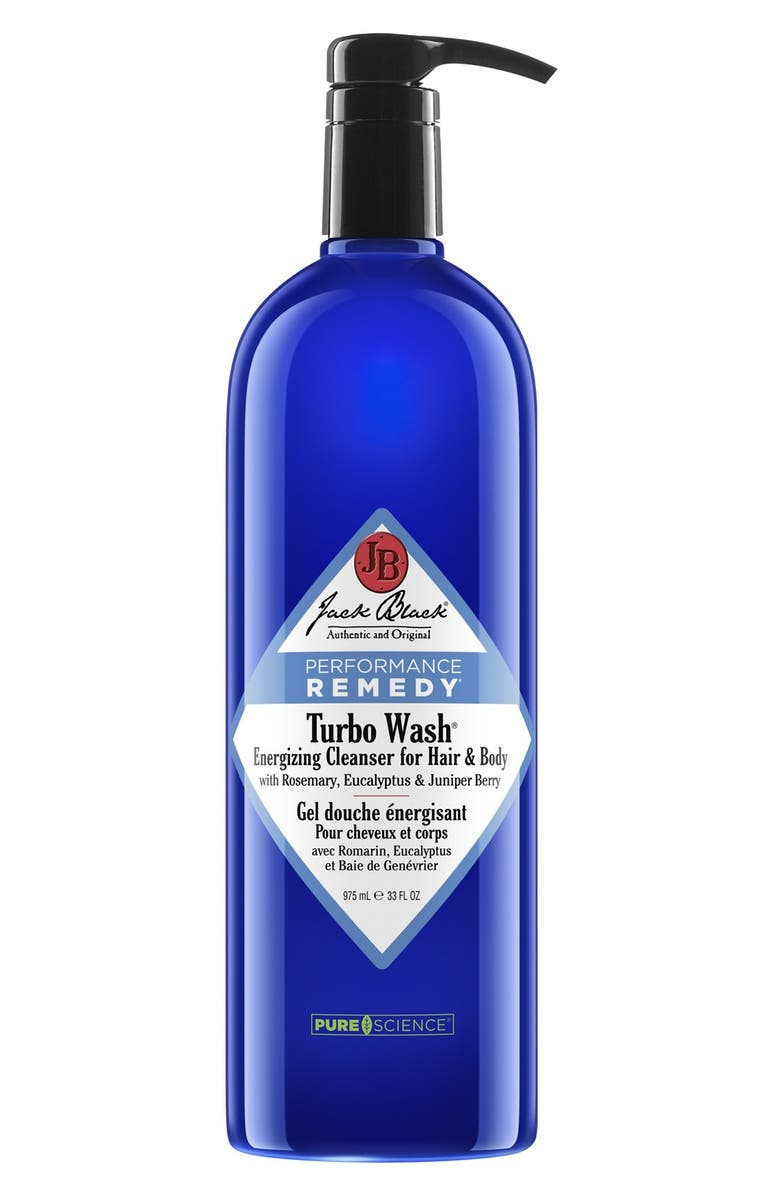 JACK BLACK Turbo Wash<sup>®</sup> Energizing Cleanser for Hair & Body, Main, color, 000