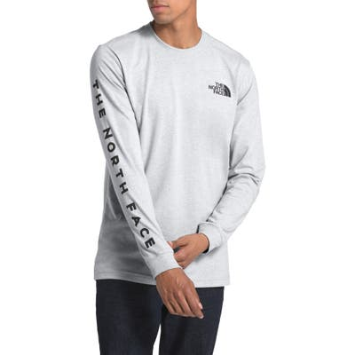 The North Face Bottle Source Long Sleeve T-Shirt, Grey