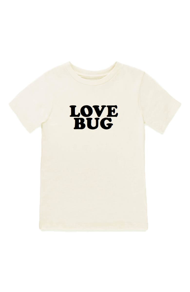 TENTH & PINE Love Bug Organic Cotton T-Shirt, Main, color, 100