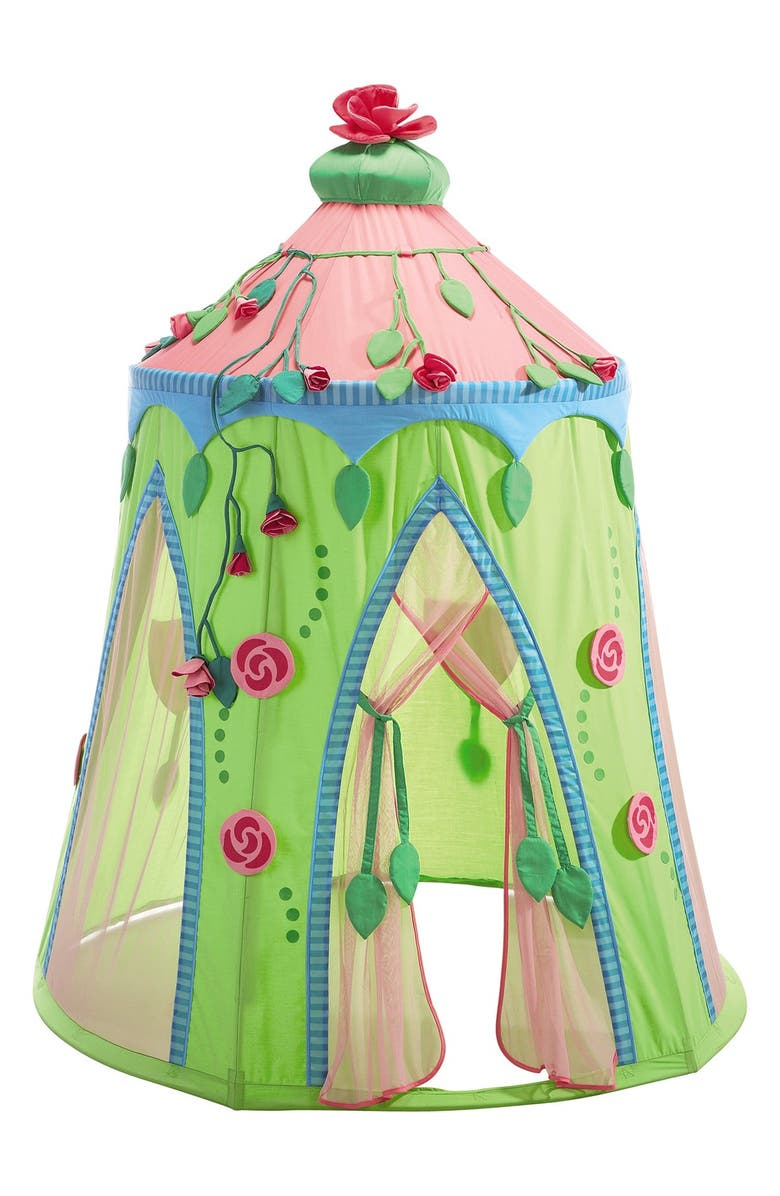 HABA 'Rose Fairy' Play Tent, Main, color, PINK