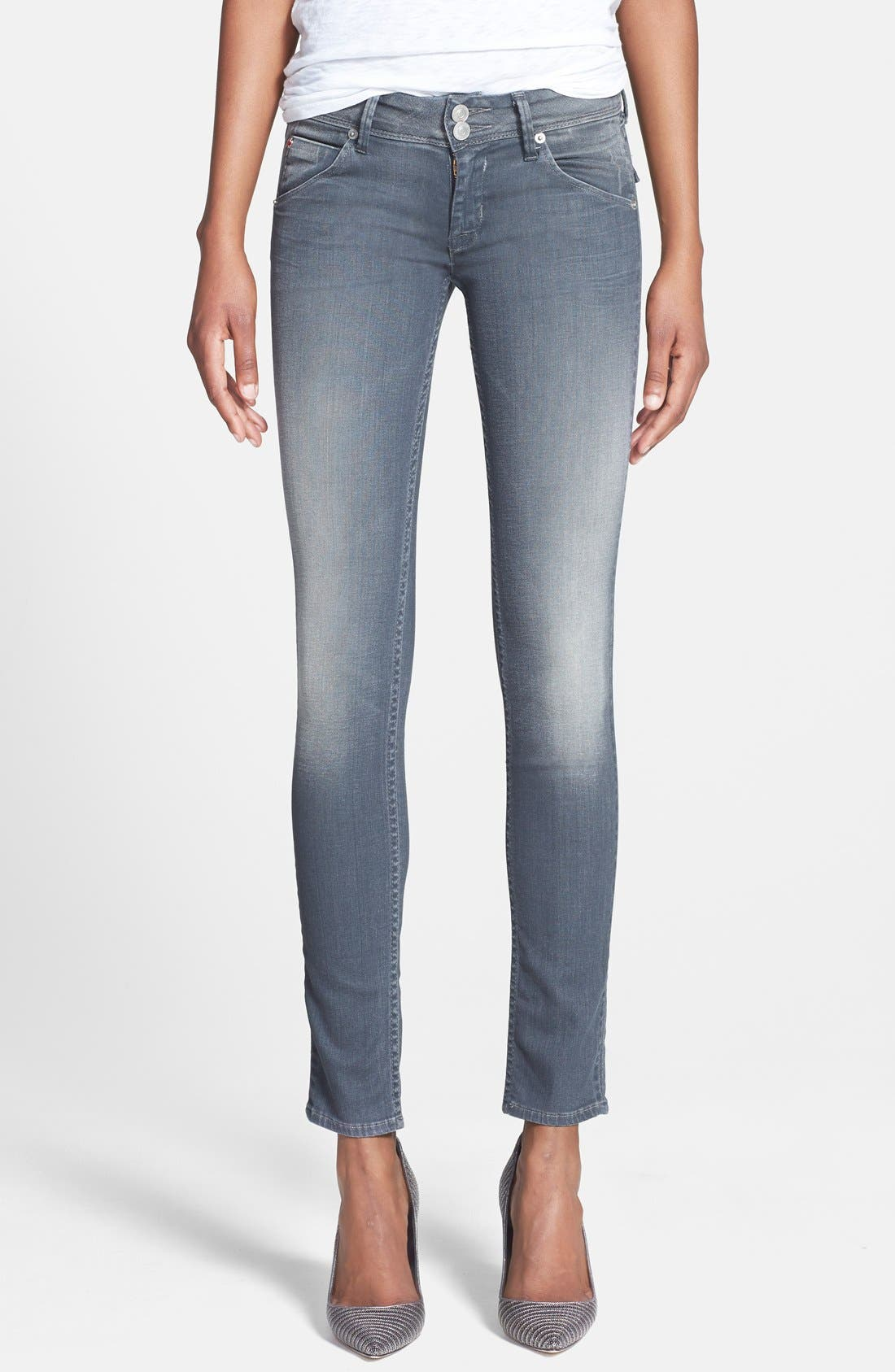 'Collin' Skinny Jeans, Main, color, 020