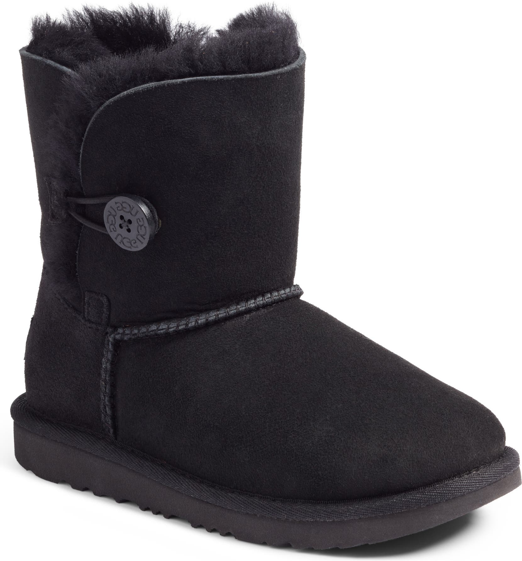 056f0f4e8 UGG® Bailey Button II Water Resistant Genuine Shearling Boot (Walker,  Toddler, Little Kid & Big Kid) | Nordstrom