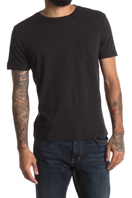 Image of Vintage 1946 Crew Neck Pocket Slub T-Shirt