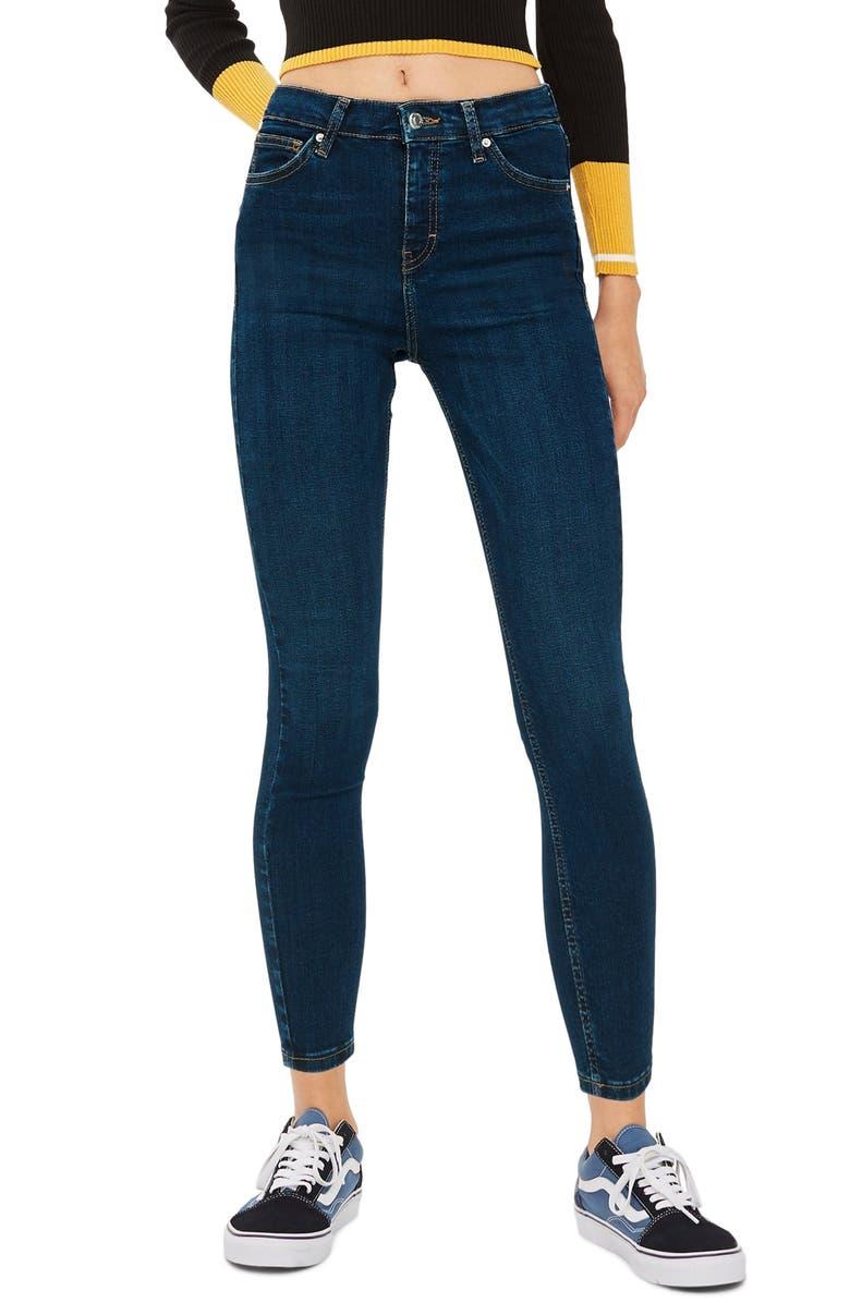 TOPSHOP Jamie Jeans, Main, color, INDIGO