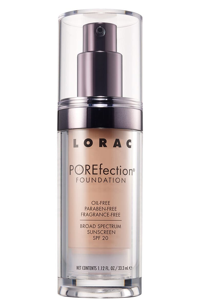 LORAC POREfection<sup>®</sup> Foundation, Main, color, PR03 - LIGHT BEIGE